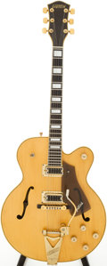 Musical Instruments:Electric Guitars, 1975 Gretsch Country Club Natural Semi-Hollow Body Electric Guitar,Serial # 12-5093....