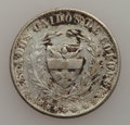 Colombia, Colombia: Two Decimos 1867 -1874 Study Lot,... (Total: 9 coins)