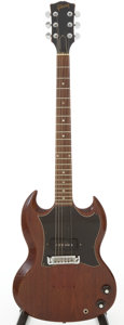 Musical Instruments:Electric Guitars, 1967 Gibson SG Junior Cherry Solid Body Electric Guitar, Serial #953990....