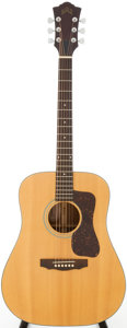 Musical Instruments:Acoustic Guitars, 1980 Guild D-35NT Natural Acoustic Guitar, Serial # DB100702....