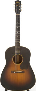 Musical Instruments:Acoustic Guitars, 1944 Gibson J-45 Sunburst Acoustic Guitar, Serial # 405....