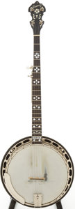 Musical Instruments:Banjos, Mandolins, & Ukes, 1993 Deering Golden Era Natural 5-String Banjo, Serial # 4393....