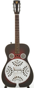 Musical Instruments:Acoustic Guitars, 1972 Dobro 60-D Sunburst Resonator Guitar, Serial # 722....