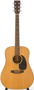 Musical Instruments:Acoustic Guitars, 1972 Martin D-18 Natural Acoustic Guitar, Serial # 312357....