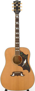 Musical Instruments:Acoustic Guitars, 1995 Gibson Dove Natural Acoustic Guitar, Serial # 91505051....
