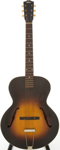 Musical Instruments:Acoustic Guitars, 1935 Gibson L-50 Sunburst Archtop Acoustic Guitar, Serial #829A....