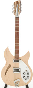 Musical Instruments:Electric Guitars, 2002 Rickenbacker 330-12 Mapleglo Semi-Hollow Body Electric GuitarSerial # 0207537...