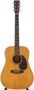 Musical Instruments:Acoustic Guitars, 1960 Martin D-28 Natural Acoustic Guitar, Serial # 171355....