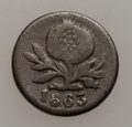 Colombia, Colombia: Popayan Quarter Decimo 1863 -1881 date Set, ... (Total:11 coins)