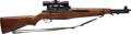 Long Guns:Bolt Action, .30/06 Springfield M-1 Garand Rifle with Telescopic Sight....