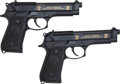 Handguns:Semiautomatic Pistol, Lot of Two (2) Beretta M9 Limited Edition 9mm Semi-Automatic Pistols.... (Total: 2 Items)
