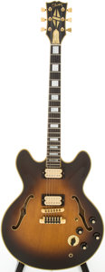 Musical Instruments:Electric Guitars, 1981 Gibson ES-335 Tobacco Sunburst Semi-Hollow Body Electric Guitar, Serial # 80991029...