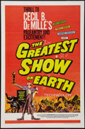 "Movie Posters:Drama, The Greatest Show on Earth (Paramount, R-1967). One Sheet (27"" X 41""). Drama.. ..."