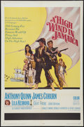 "Movie Posters:Adventure, A High Wind in Jamaica (20th Century Fox, 1965). One Sheet (27"" X41""). Adventure.. ..."
