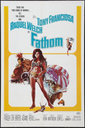 "Movie Posters:Adventure, Fathom (20th Century Fox, 1967). One Sheet (27"" X 41""). Adventure....."