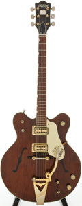 Musical Instruments:Electric Guitars, 1967 Gretsch Country Gentleman Walnut Semi-Hollow Body Electric Guitar, Serial # 571260...