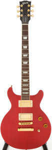 Musical Instruments:Electric Guitars, 1998 Gibson Les Paul DC Cherry Solid Body Electric Guitar, Serial #91128543...