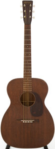 Musical Instruments:Acoustic Guitars, 1952 Martin 00-17 Natural Acoustic Guitar, Serial # 126210....