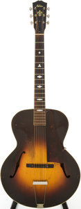 Musical Instruments:Acoustic Guitars, 1934 Gibson L-50 Sunburst Archtop Acoustic Guitar, #91965....