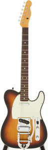 Musical Instruments:Electric Guitars, Fender Telecaster Custom Sunburst Solid Body Electric Guitar,#Q044828....