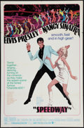 "Movie Posters:Elvis Presley, Speedway (MGM, 1968). One Sheet (27"" X 41""). Elvis Presley.. ..."