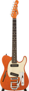 Musical Instruments:Electric Guitars, 1999 G & L ASAT Orange Solid Body Electric Guitar, Serial #CLF19993...