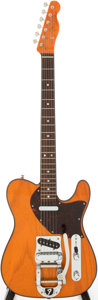 Musical Instruments:Electric Guitars, 1996 Fender Custom Shop Butterscotch Blonde Bigsby Telecaster SolidBody Electric Guitar, Number 9 of 12....