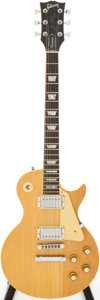 Musical Instruments:Electric Guitars, 1978 Gibson Les Paul Standard Natural Solid Body Electric Guitar, Serial # 71798512...