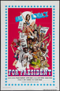 """Movie Posters:Adult, Linda Lovelace for President & Other Lot (General Film, 1976). One Sheets (2) (27"""" X 41""""). Adult.. ... (Total: 2 Items)"""