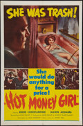 "Movie Posters:Crime, Hot Money Girl (United Producers, 1961). One Sheet (27"" X 41"").Crime.. ..."