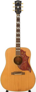Musical Instruments:Acoustic Guitars, 1967 Gibson Hummingbird Natural Acoustic Guitar, Serial #370044....