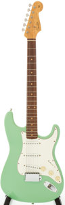 Musical Instruments:Electric Guitars, 1998 Fender Custom Shop 1960 Stratocaster Sea Foam Green Solid BodyElectric Guitar, Serial # 5 of 5....