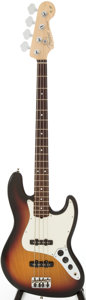 Musical Instruments:Bass Guitars, 2006 Fender Jazz Bass Sunburst Electric Bass Guitar, Serial # Z6129463...