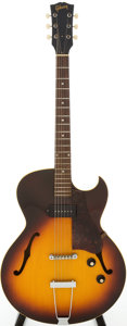 Musical Instruments:Electric Guitars, 1967 Gibson ES-125C Sunburst Semi-Hollow Body Electric Guitar, Serial # 095519...