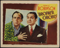 """Movie Posters:Crime, Brother Orchid (Warner Brothers, 1940). Lobby Card (11"""" X 14"""").Crime.. ..."""