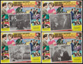 """Movie Posters:Crime, Ocean's 11 (Warner Brothers, 1960). Mexican Lobby Card Set of 8(12.5"""" X 16.25""""). Crime.. ... (Total: 8 Items)"""