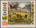 """Movie Posters:War, Hell is for Heroes (Paramount, 1962). Half Sheet (22"""" X 28""""). War....."""
