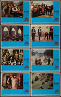 "Movie Posters:Western, The Wild Bunch (Warner Brothers, 1969). Lobby Card Set of 8 (11"" X 14""). Western.. ... (Total: 8 Items)"