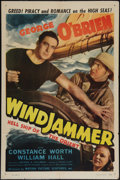 "Movie Posters:Adventure, Windjammer (Motion Picture Ventures, R-1940s). One Sheet (27"" X41""). Adventure.. ..."