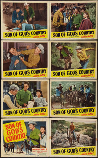 "Son of God's Country (Republic, 1948). Lobby Card Set of 8 (11"" X 14""). Western. ... (Total: 8 Items)"