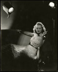 "Movie Posters:Drama, Bette Davis by Elmer Fryer (Warner Brothers, 1939). Portrait Photo(7.5"" X 9.25""). Drama.. ..."