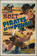 "Movie Posters:Western, Pirates of the Prairie (RKO, 1942). One Sheet (27"" X 41"").Western.. ..."