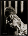 """Movie Posters:Miscellaneous, Clara Bow by Eugene Robert Richee (Paramount, 1929). Portrait Photo (7.5"""" X 9.5""""). Miscellaneous.. ..."""