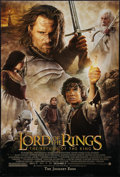 "Movie Posters:Fantasy, The Lord of the Rings: The Return of the King (New Line, 2003). One Sheet (27"" X 40"") DS Advance. Fantasy.. ..."
