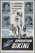 "Movie Posters:War, Operation Bikini (American International, 1963). One Sheet (27"" X41""). War.. ..."