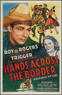 "Hands Across the Border (Republic, 1944). One Sheet (27"" X 41""). Western"