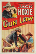 "Movie Posters:Western, Gun Law (Majestic, 1933). One Sheet (27"" X 41""). Western.. ..."