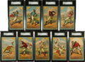 "Baseball Cards:Sets, 1882 Cosack & Co. Baseball Complete Set (9) - #2 on the SGC Set Registry - A Matching ""Wright & Ditson"" Brand Set! ..."