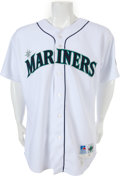 Baseball Collectibles:Uniforms, 1998 Alex Rodriguez Game Worn Seattle Mariners Uniform with Two A-Rod Letters....