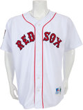 Baseball Collectibles:Uniforms, 1994 Roger Clemens Game Worn Boston Red Sox Jersey....